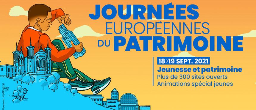 Affiche des Journées Européenes du Patrimoine